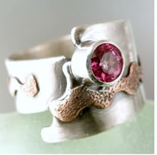 Mixed Metal Ring