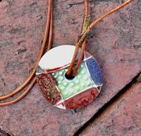 Clay Pendant Necklaces