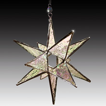 3-D Stained Glass Ornaments