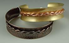 Embellished Anticlastic Bracelet