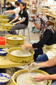 Intro to Potter's Wheel class