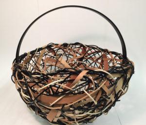 Black Round Basket_Anne Willson