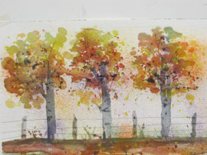 Simple Fall Landscape_Laura Azzi