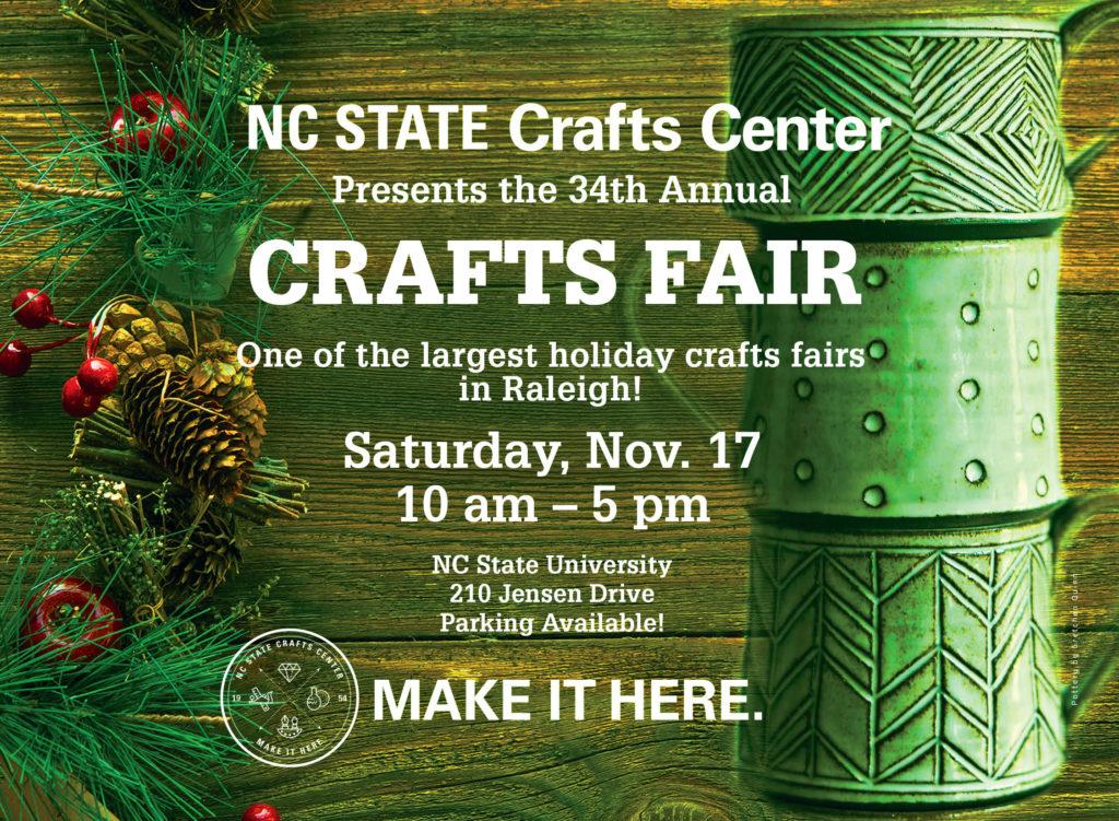 Crafts Fair Announcement