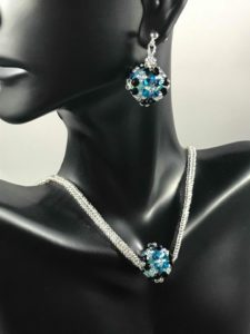 Oh My Darling!_Beaded Jewelry Set_Victoria Hevener