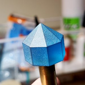 Intro to Faceting - Blue Stone