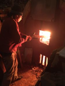 Woodfiring - stoking kiln